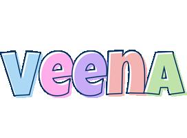 Veena pastel logo