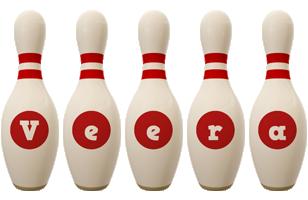Veera bowling-pin logo