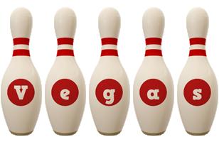 Vegas bowling-pin logo
