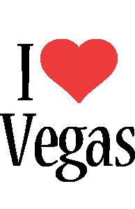 Vegas i-love logo