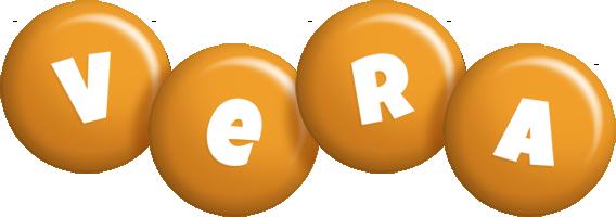 Vera candy-orange logo