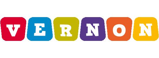 Vernon daycare logo