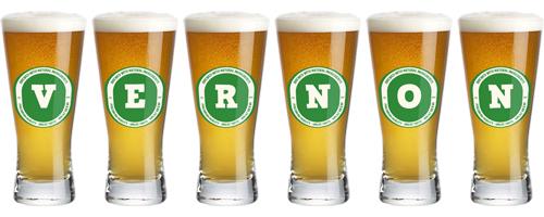 Vernon lager logo