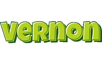 Vernon summer logo