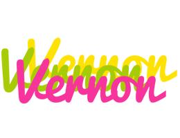 Vernon sweets logo