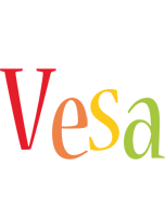 Vesa birthday logo