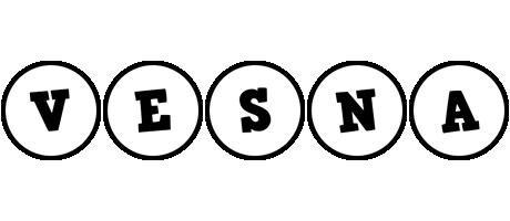 Vesna handy logo
