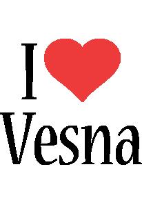 Vesna i-love logo