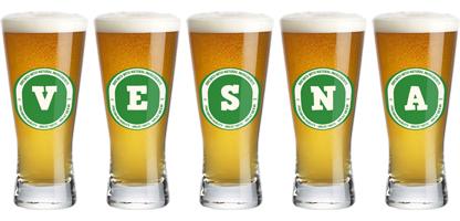 Vesna lager logo