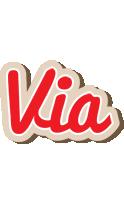 Via chocolate logo