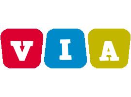 Via daycare logo