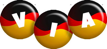 Via german logo