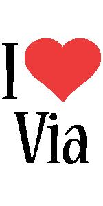 Via i-love logo
