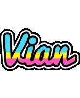 Vian circus logo