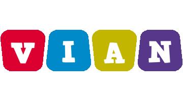 Vian daycare logo