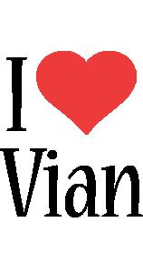 Vian i-love logo