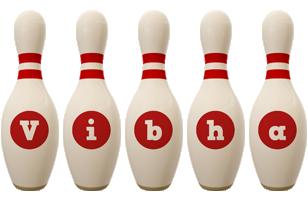Vibha bowling-pin logo