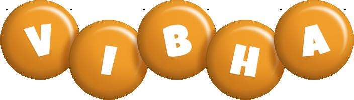 Vibha candy-orange logo