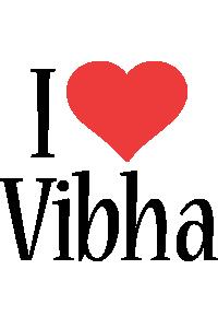 Vibha i-love logo