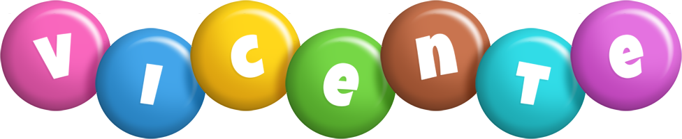 Vicente candy logo
