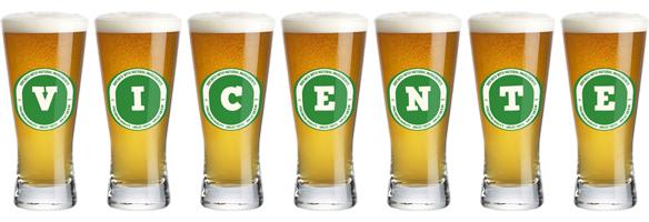 Vicente lager logo