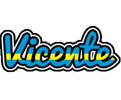 Vicente sweden logo