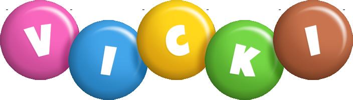 Vicki candy logo