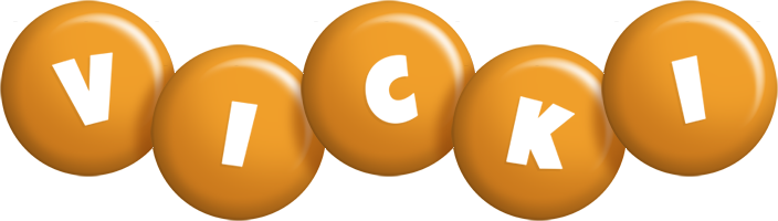 Vicki candy-orange logo