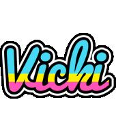 Vicki circus logo