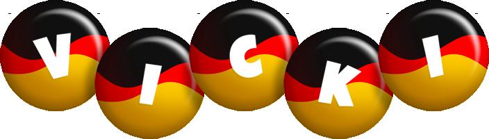 Vicki german logo