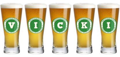 Vicki lager logo