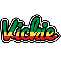 Vickie african logo