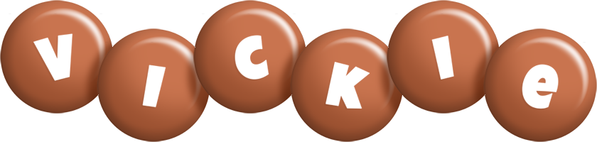 Vickie candy-brown logo