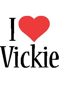 Vickie i-love logo