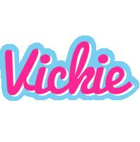 Vickie popstar logo