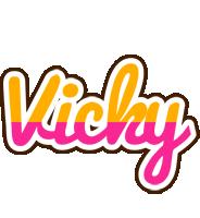 Vicky smoothie logo