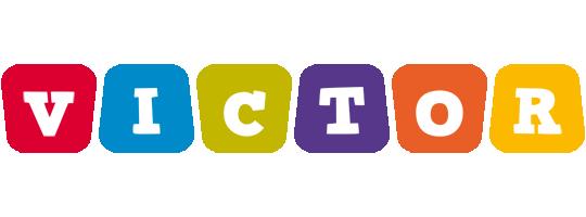 Victor daycare logo
