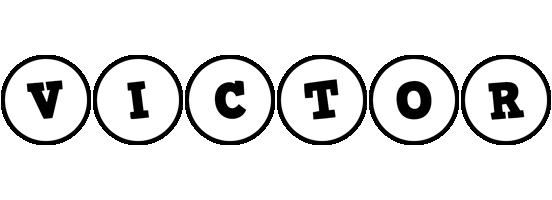 Victor handy logo