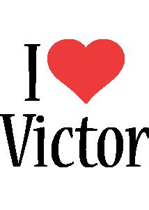 Victor i-love logo