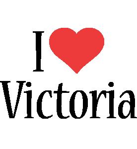 Victoria i-love logo