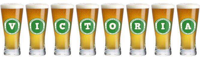 Victoria lager logo