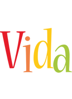 Vida birthday logo