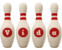 Vida bowling-pin logo