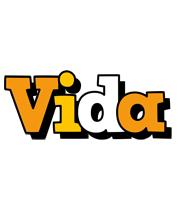 Vida cartoon logo