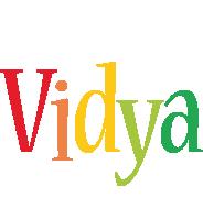 Vidya birthday logo