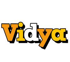 Vidya cartoon logo
