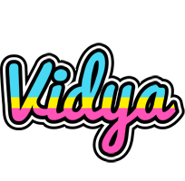 Vidya circus logo