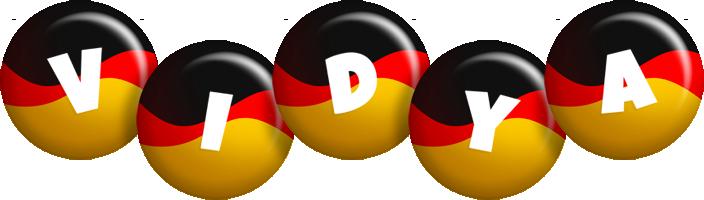 Vidya german logo