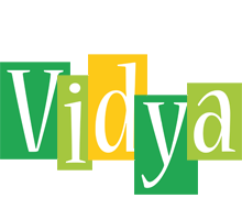 Vidya lemonade logo