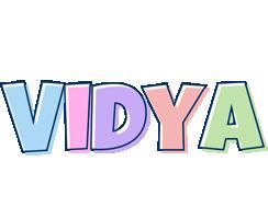 Vidya pastel logo